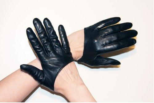 men's gloves Messy Nessy Chic