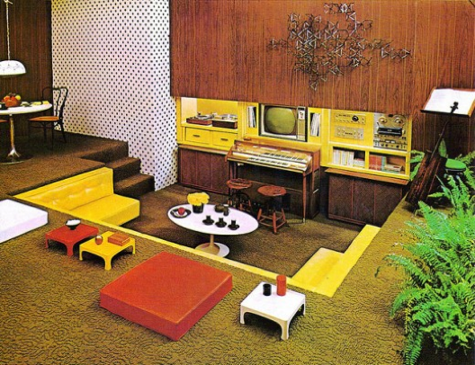 70s Decorating Style that 70s home