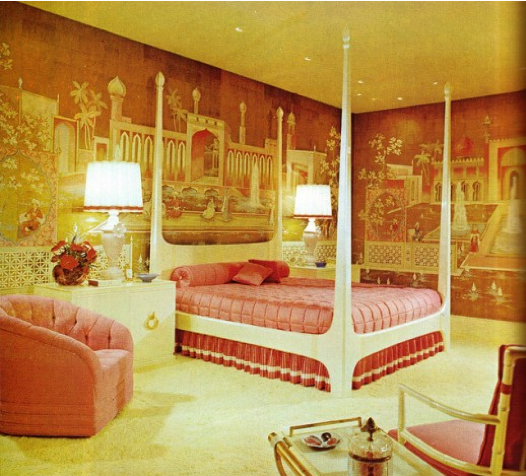 retro bombay boudoir - 70s Home Design