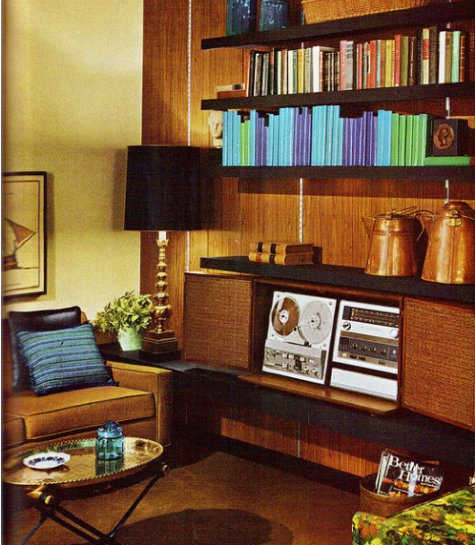 70s Home Design view in gallery warm yellows showcase a 70s retro look along with a tinge of hollywood regency Sean Connery 007 Off Duty