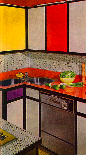 That 70s home for Kitchen design 70s